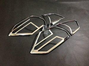 Хромированные накладки на стопы для X-Trail 2014г. NEW