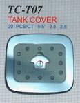 Хромированная накладка на бак TC-T07 LAND CRUISER