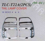 Хромированные накладки на стоп TLC-T22A LAND CRUISER (98-04)