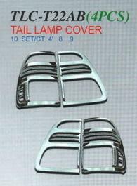 Хромированные накладки на стоп TLC-T22AB LAND CRUISER (98-04)