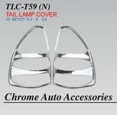 Хромированные накладки на стоп-сигналы TLC-T59(N) LAND CRUISER