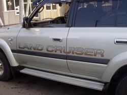 Наклейка (LAND CRUISER) для TOYOTA LAND CRUISER 100