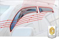 Ветровеки на двери для Toyota Highlander 2013+