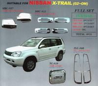 Хромированные накладки WellStar комплект 4 элемента Тайвань FS- для X/TRAIL NISSAN X-TRAIL