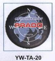 Чехол запасного колеса YW-TA-20 LAND CRUISER PRADO 7X (90-95)