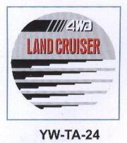 Чехол запасного колеса YW-TA-24 TOYOTA