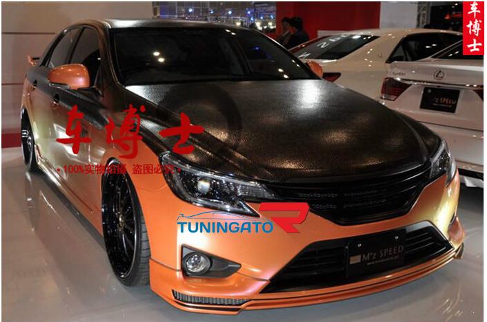 Дефлектор на капот Toyota Land Cruiser 200 2016+