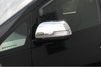 Хром накладки на зеркала под повторители поворотов для Toyota Alphard\Wellfire 08-15