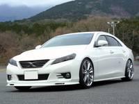 Обвесы Kunny'z, тюнинг комплкт аероденамических обвесов, комплект из 3х. предметов, Япония для Toyota Mark X 2010г.