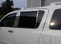Хром накладки на стойки дверей 6 штук для Nissan Armada Nissan Titan 04-10