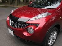 Дефлектор капота (атбойник). Северная Америка для Nissan Juke