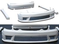 Обвесы, (тюнинг) Toyota Aristo комплект из 4х- предметов (переднии бампер / боковой порог / заднии бампер) для Toyota Aristo JZS160 97-02г.\ Lexus GS300
