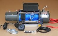 Лебедка электрическая 12V Electric Winch 12000lbs / 5443 кг с кевларовым тросом 10mm 1521