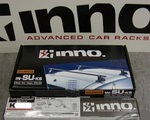 Багажник на крышу INNO для 3 дверного Nissan Almera / Pulsar (1995-2000)
