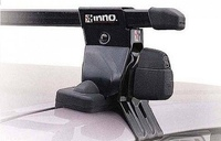 Багажник на крышу INNO для 4-5 дверного Nissan Almera / Pulsar (1995-2000)