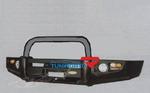 Бампер передний металлический HD07-NS-A050-1B для Toyota Surf 96-02г.
