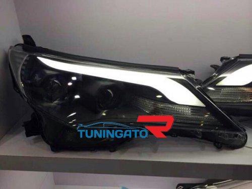 Фары тюнинговые для Toyota RAV4 2013+