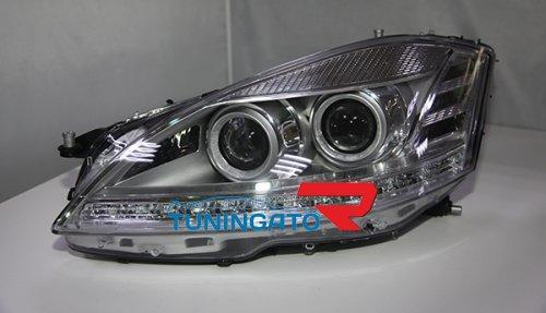 Фары рестайлинг для Mercedes W221