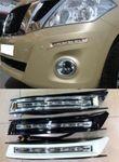 Ходовые огни диодные в передний бампер для Nissan Patrol 2010