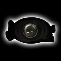 Туманки линзованные черные овальные для Mercedes G500\55\65 W463
