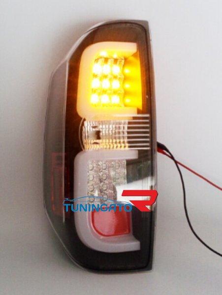 Фонари диодные Ruby Black Red для Toyota Tundra 2014г.+