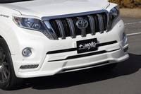 Накладка обвес на передний бампер JAOS для LC Prado 150 new