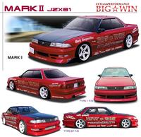 Комплкт обвесов BIG*WIN (передний бампер, пороги, зад. бампер) для Toyota Mark2 (88-92г.)