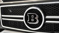 Эмблема Brabus в решетку радиатора Mercedes G-Class