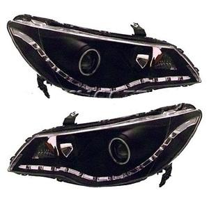 Фары черные светодиодные (линзы) HONDA CIVIC (2006-)
