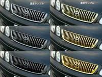 Декаративая решотка BROS CCT, вертикальные полосы, черный хром, золото, для TOYOTA ARISTO JZS16# (97-00)\ Lexus GS300