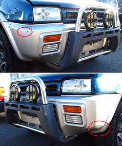 Дуга (кенгурятник) на передний бампер для Nissan Mistral / Terrano 2