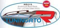 Релинги продольные HD219 (FJ100-D023) LAND CRUISER 100