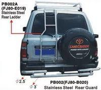 Защита заднего бампера PB002 LAND CRUISER 80 (90-97)
