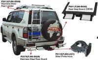 Защита заднего бампера P2078 (FJ90-B029) LAND CRUISER PRADO