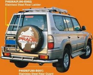 Лестница задняя P4026А (FJ90-E002) LAND CRUISER PRADO (96-01)