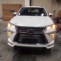 Аэродинамический обвес в стиле Lexus для Toyota Fortuner 2017г.