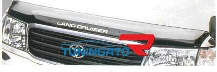 Дефлектор капота (Широкий двухцветный) LAND CRUISER 100
