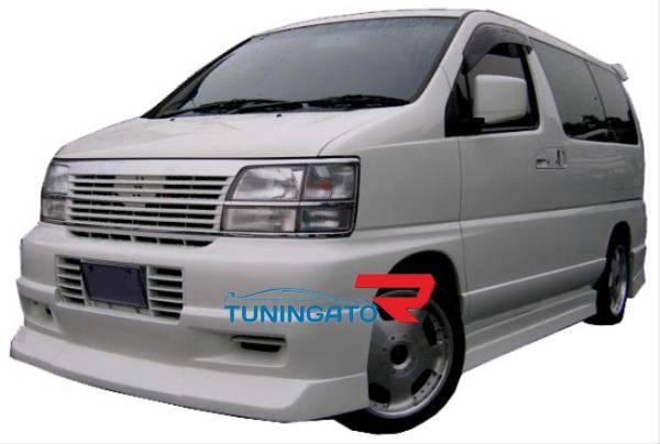 Аеродинамический обвес для Nissan Elgrand 97-99г.
