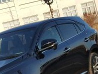 Ветровики комплект оригинал для Toyota Harrier 60 2013г+
