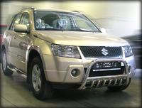 Дуга передняя низкая d-53 с защитой картера d-43 (GVN_5) для Suzuki Grand Vitara (05-2012)