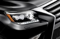 Фары диодные стиль 2014г для Lexus GX460 (10-19г)