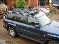 Багажник на крышу HD08-D1 (220x125x19) NISSAN SAFARI / PATROL (2005-)