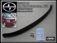Дефлектр на капот (черный) Американский на Toyota Bb 2000-06г.