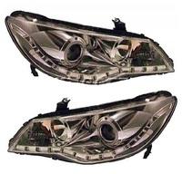 Фары хромированные светодиодные (линзы) HONDA CIVIC (2006-)