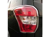 Хром накладки на стоп сигналы для Subaru Forester 2012+