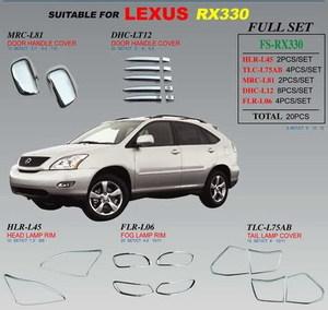 Хромированные накладки FS-RX330 TOYOTA HARRIER (2002- 2006)