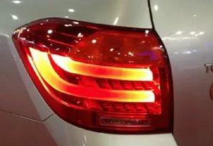 Диодные стоп-сигналы в стиле BMW для Toyota Highlander 2007+
