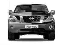 Бампер передний рестайлинг для Nissan Patrol (2014) Y62