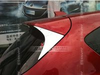 Хром накладки на спойлер для Mazda CX-5 (2012-)