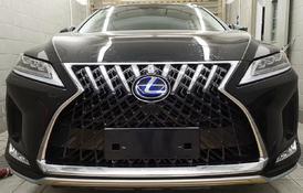 Бампер в стиле 2020г для Lexus RX (2016-19г)